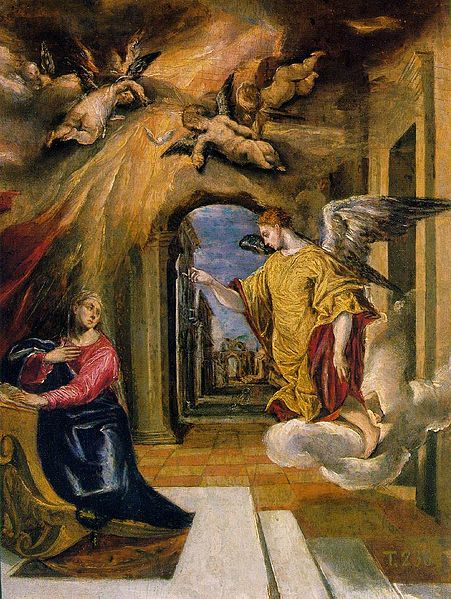 The Annunciation of the Blessed Virgin Mary